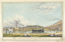 The Deptford and Greenwich Railway, from the Surrey Canal